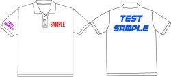 画像1: オリジナルポロシャツ作成