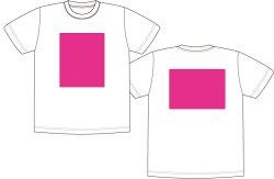 画像1: 白色シャツにフルカラーでプリント  オリジナルTシャツ作ります